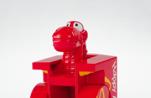 Dino Happy Meal Box Changeable