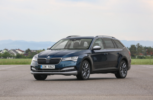 Škoda Superb Scout