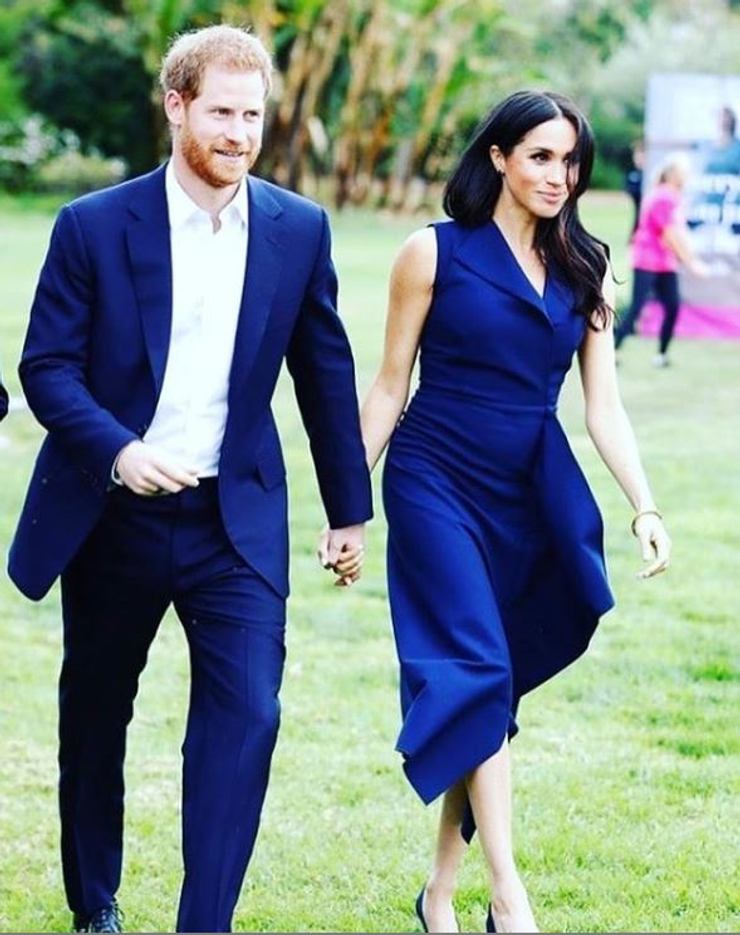Princ Harry a Megan Markle