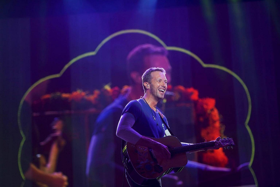 2. Coldplay