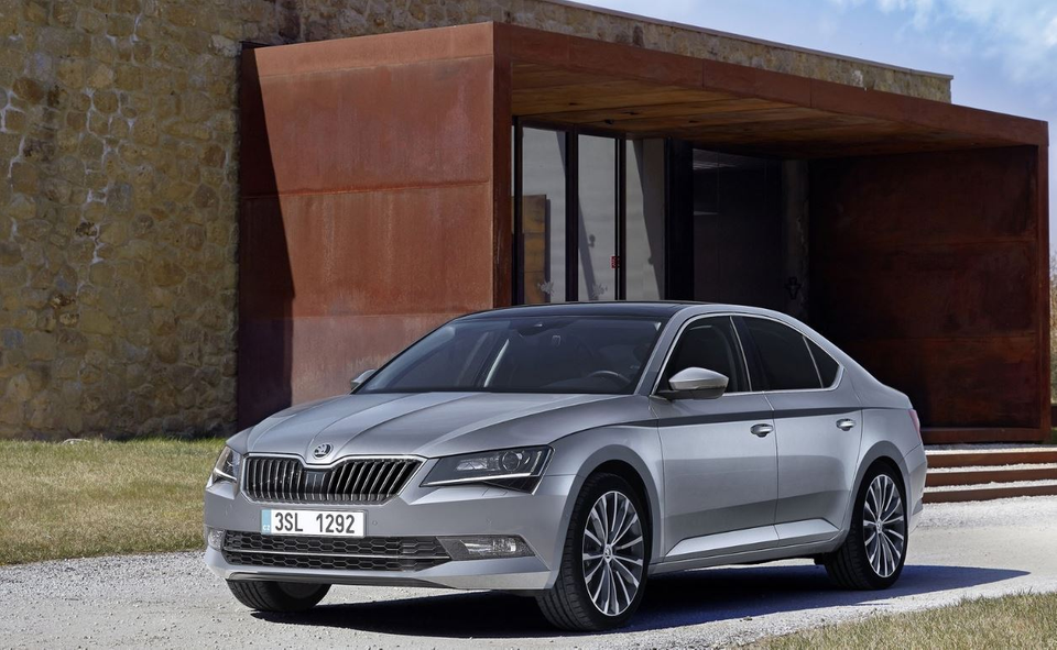 5. Škoda Superb