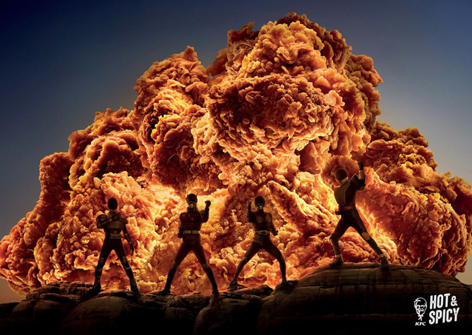 KFC, Hot and Spicy (Ogilvy Hong Kong)