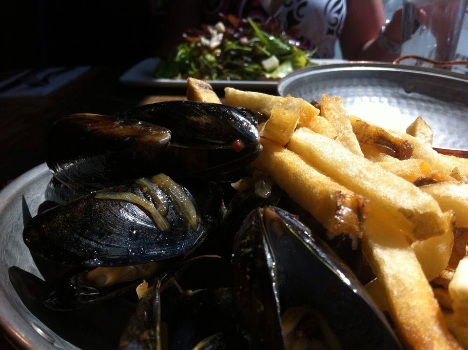 Belgicko: Moules-frite
