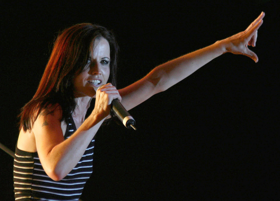 Dolores O'Riordanová Cranberries