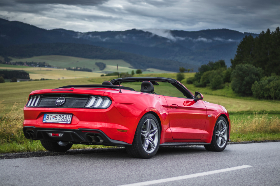 Ford Mustang GT 5.0 Convertible