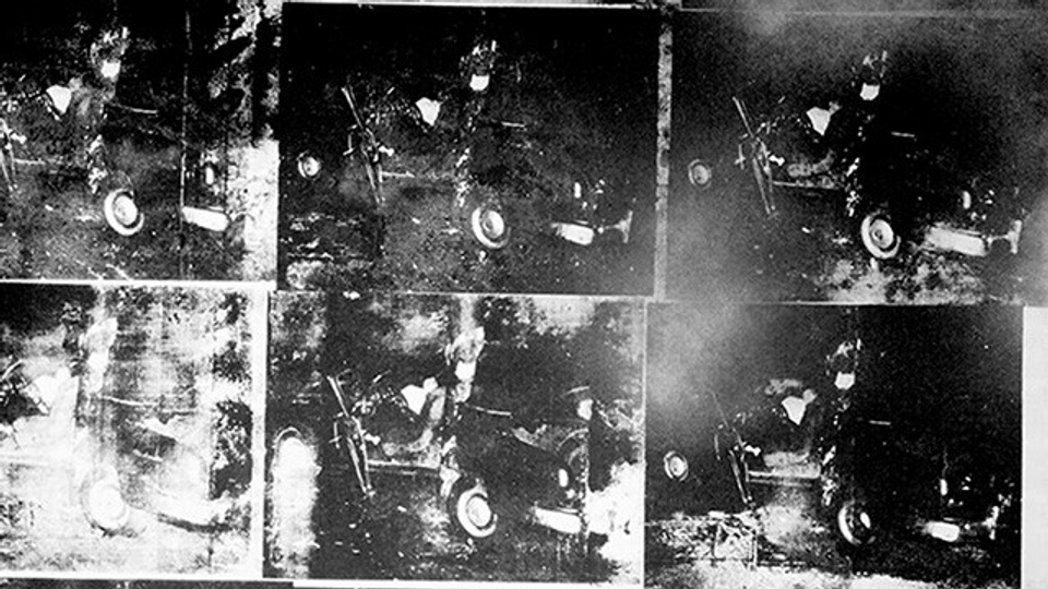 7. Andy Warhol, Silver Car Crash (Double Disaster)