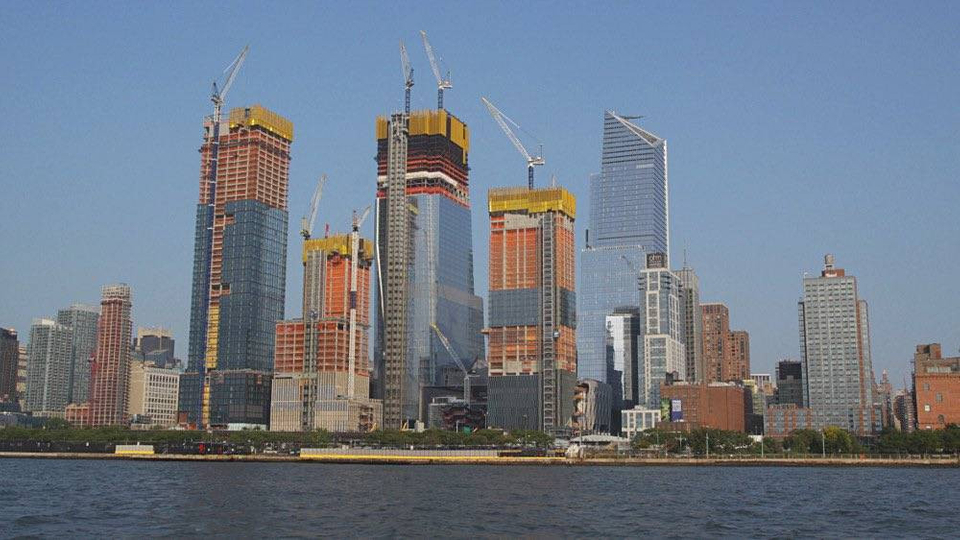 Projekt Hudson Yards v New Yorku